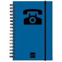 INDICE TELEFONICO M141 10X15 AZ. R: 8510510