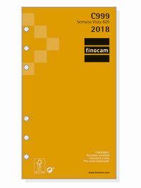 2018 * RECAMBIO ANUAL 609 SV C999 R: 201260018
