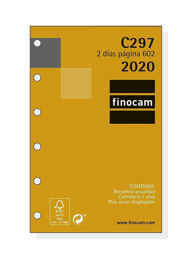 2020 * Recambio Anualidad C297 Agenda Classic 602 2dp -