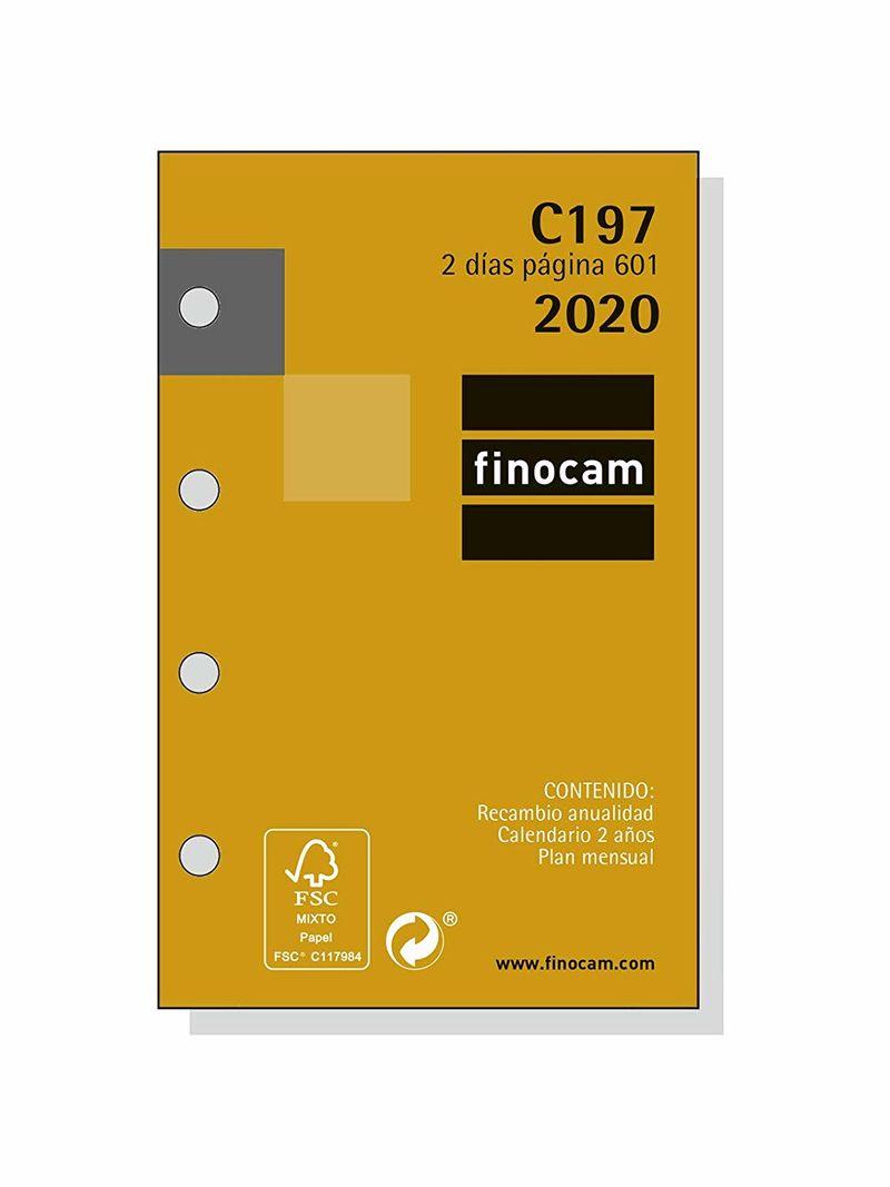 2020 * RECAMBIO ANUALIDAD C197 AGENDA CLASSIC 601 2DP