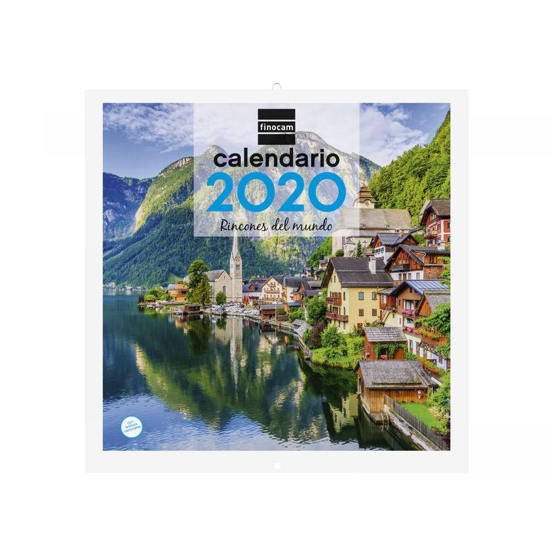 2020 * CALENDARIO PARED 30X30 RINCONES MUNDO