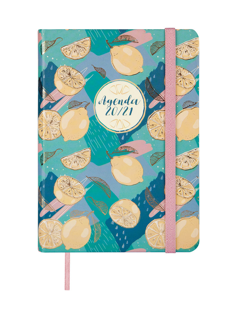 20 / 21 * AGENDA ESCOLAR NATURAL LEMON M4 1DP