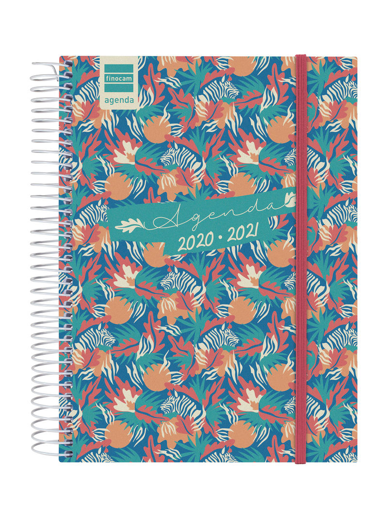 20 / 21 * AGENDA ESCOLAR ESPIRAL SECUNDARIA JUNGLE 4º 1DP