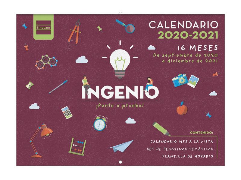 2020-21 * CALENDARIO 16 MESES FINOCAM 308X225 INGENIO