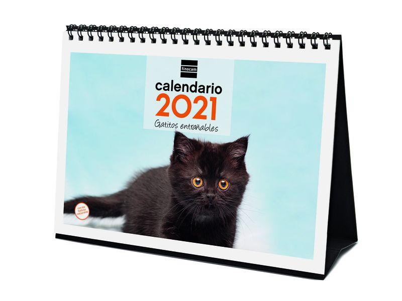 2021 * CALENDARIO FINOCAM SOBREMESA GATITOS