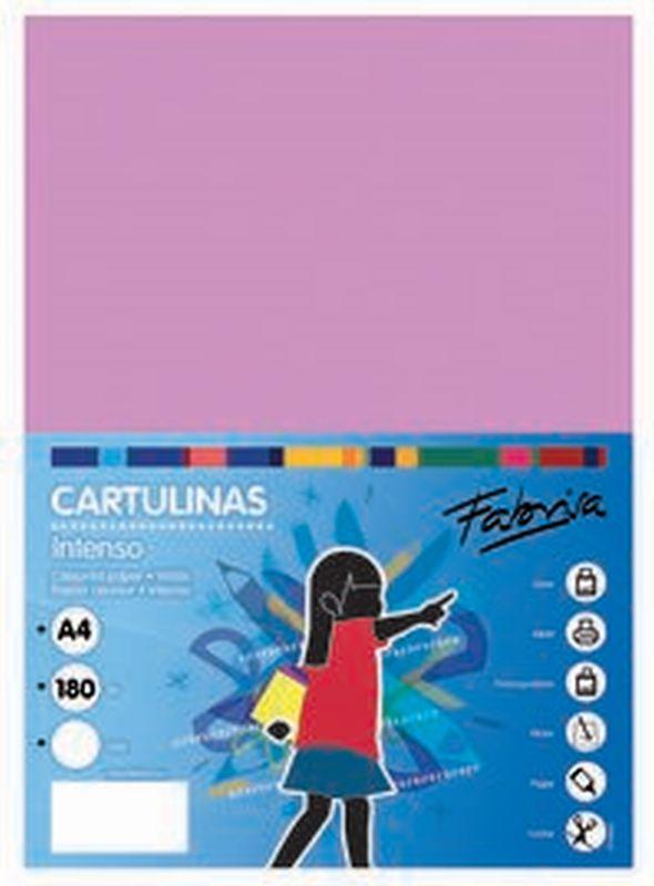 PAQ / 25 CARTULINA 180G 50X65 LILA