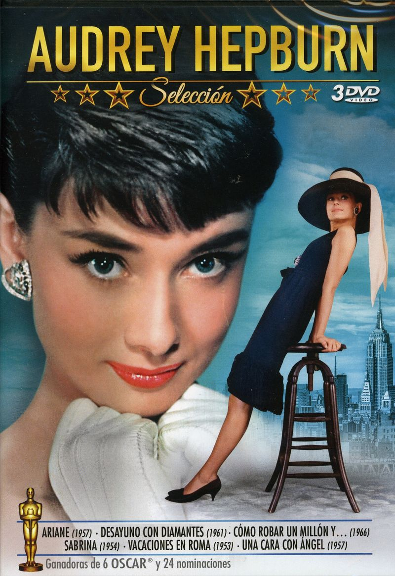 Audrey Hepburn Seleccion (6 Peliculas) (3 Dvd) - Audrey Hepburn