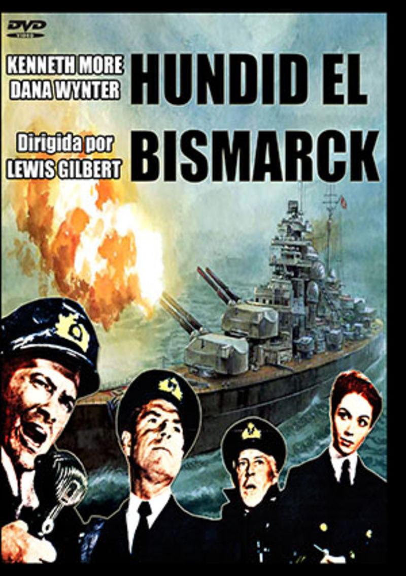 Hundid El Bismarck (dvd) * Kenneth Moore - Lewis Gilbert