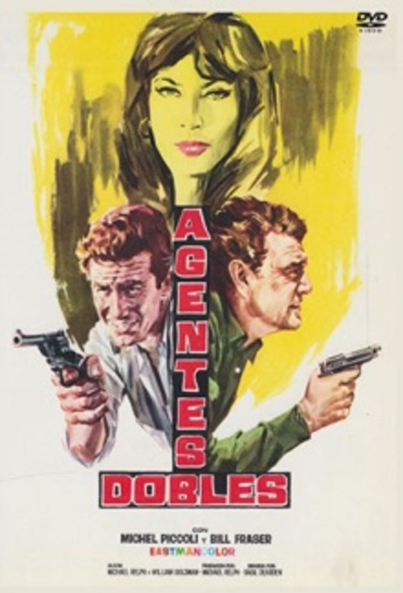 Agentes Dobles (dvd) * Cliff Robertson - Basil Dearden