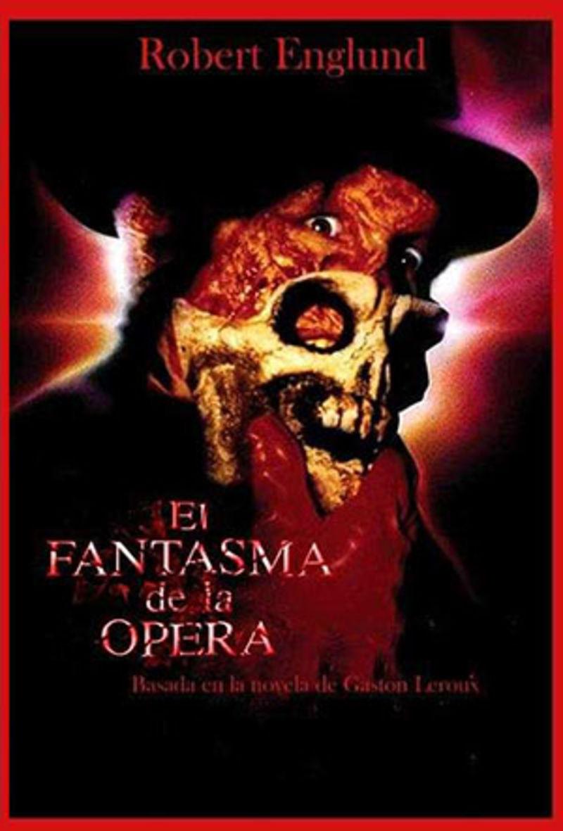 El Fantasma De La Opera (dvd) * Robert Englund - Dwight H. Litlle
