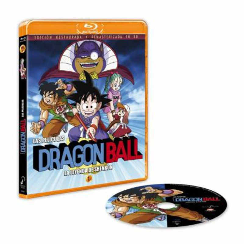 DRAGON BALL, LA LEYENDA DE SHENRON (DVD)