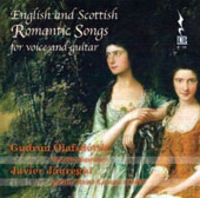 ENGLISH AND SCOTTISH, ROMANTIC SONGS FOR VOICE AND GUITAR * GUDRUN
