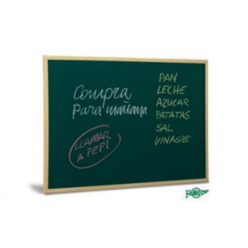 PIZARRA VERDE MARCO MADERA 40x60 R: 5032