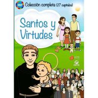PACK SANTOS Y VIRTUDES (4 DVD)