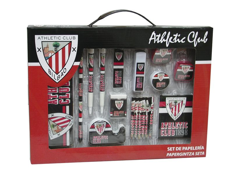 ATHLETIC CLUB * SET PAPELERIA CAJA GRANDE R: GS-10-AC
