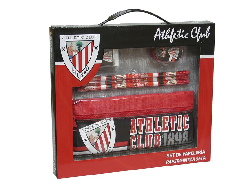 ATHLETIC CLUB * SET PAPELERIA CAJA + PORTATODO R: GS-11-AC