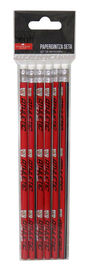 Athletic Club * Set 6 Lapices Con Goma R: Gs-504-Ac -