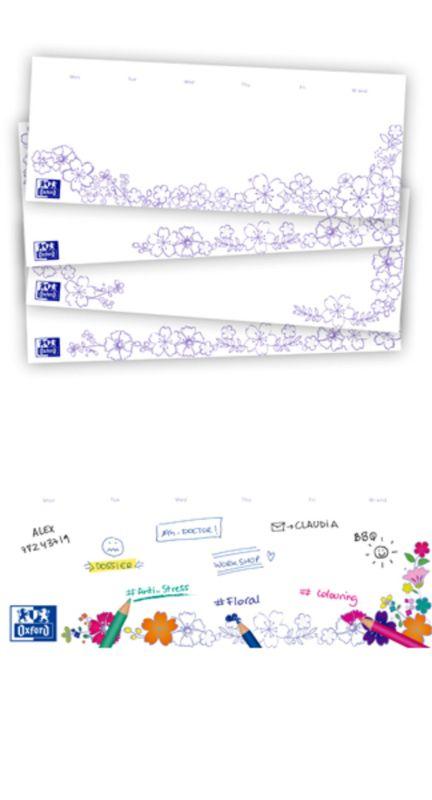 FLORAL * BLOC SOBREMESA PLANNING-COLOREA 11, 5x29, 7cm 52H R: 400104330