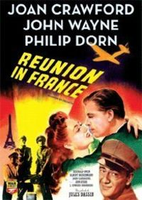 REUNION IN FRANCE (DVD) * JOAN CRAWFORD / JOHN WAYNE