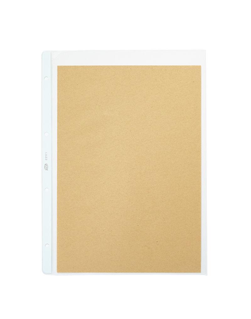 C / 100 Fundas Gran Calidad Pvc Tamaño Folio - Transparente -