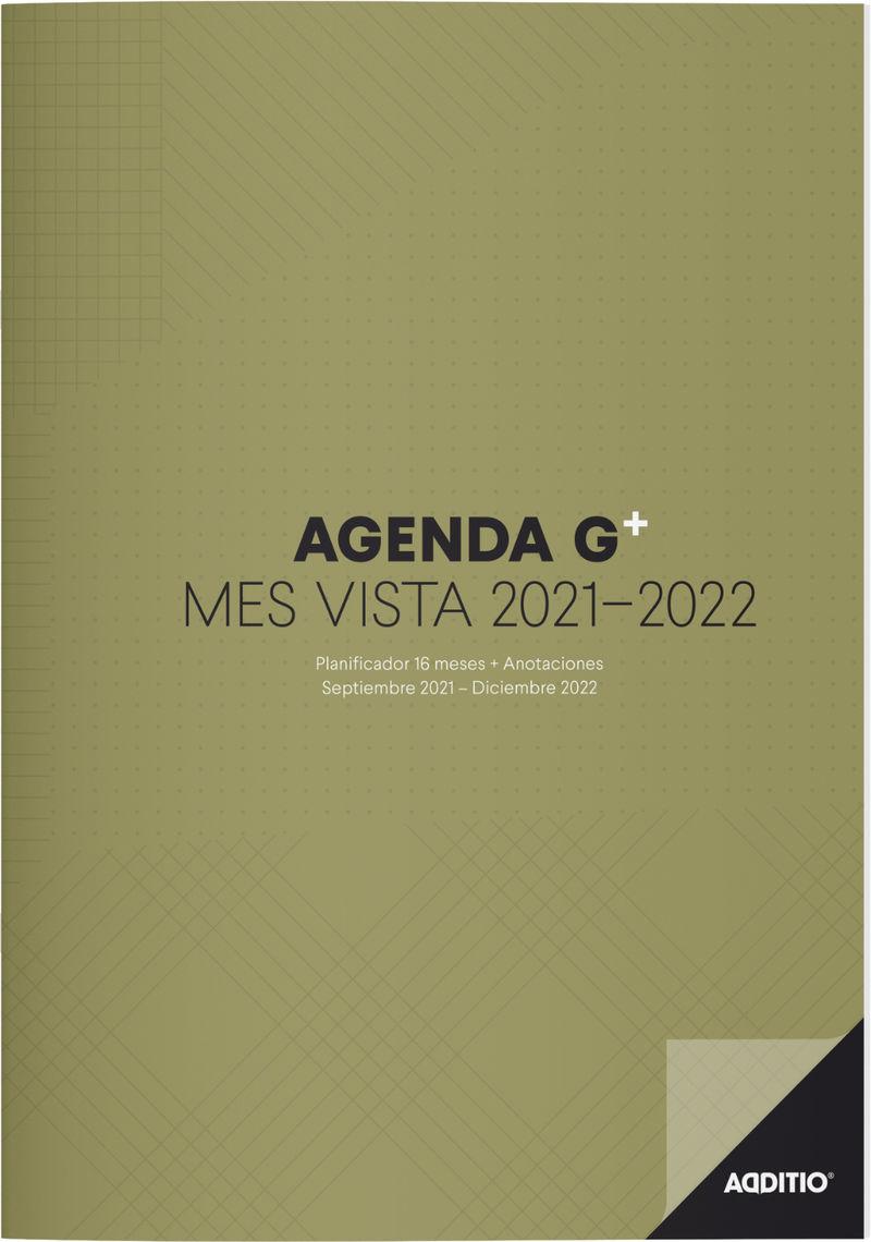 2020 / 21 * AGENDA G PLUS ADDITIO MES A LA VISTA CATALAN