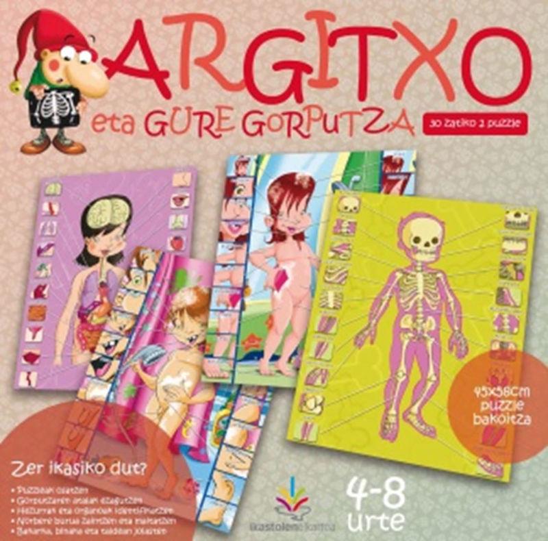 ARGITXO ETA GURE GORPUTZA