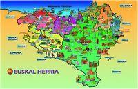 HORMA-IRUDIA - EUSKAL HERRIKO MAPA
