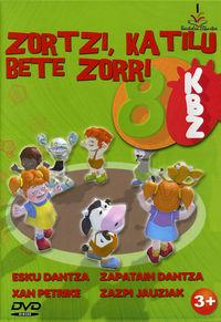 (DVD) ZORTZI, KATILU BETE ZORRI