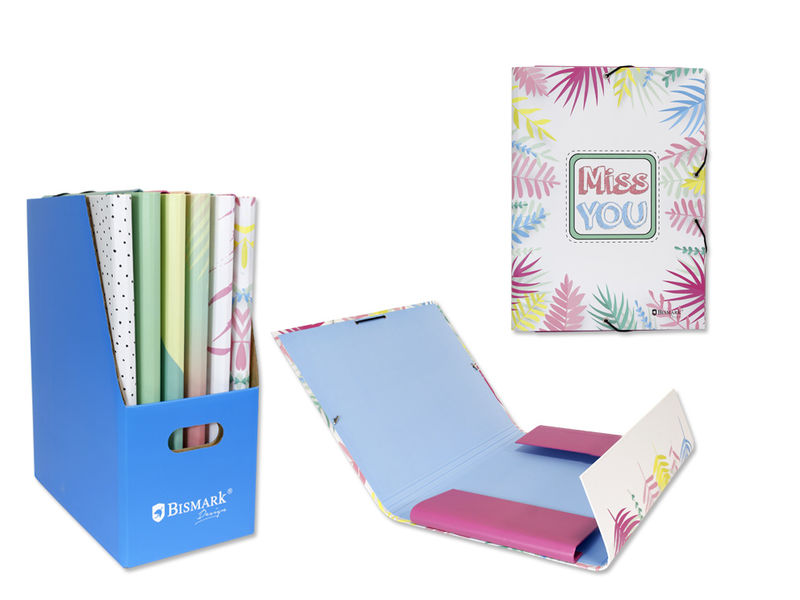 POSITIVE GIRLS * CARPETA FOLIO CON GOMAS Y SOLAPAS