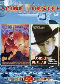 PECOS Y EL TESORO DE MONTECZUMA / EL HOMBRE DE UTAH (CINE OESTE DVD)