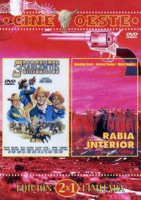 3 SARGENTOS / RABIA INTERIOR (CINE OESTE) (DVD)
