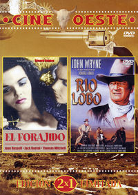 EL FORAJIDO / RIO LOBO (CINE OESTE) (DVD)