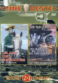 LA LEY DEL REVOLVER / EL KARATE, EL COLT Y EL IMPOSTOR (OESTE) (DVD)