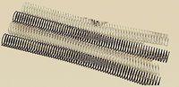 C / 50 ESPIRAL METALICA 5: 1 GBC 36MM NEGRO