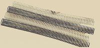 C / 100 ESPIRALES METALICAS 6MM BLANCA R: 769963