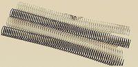 C / 100 Espiral Metalica 5: 1 Gbc 10mm Negro -