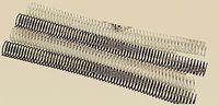 C / 100 ESPIRAL METALICA 5: 1 GBC 16MM NEGRO