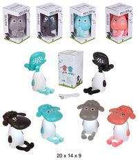 LAMPARA SOBREMESA LEDS HAPPY SHEEP 4 COLORES R: GS0091