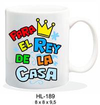 TAZA PARA EL REY DE LA CASA R: HL-189
