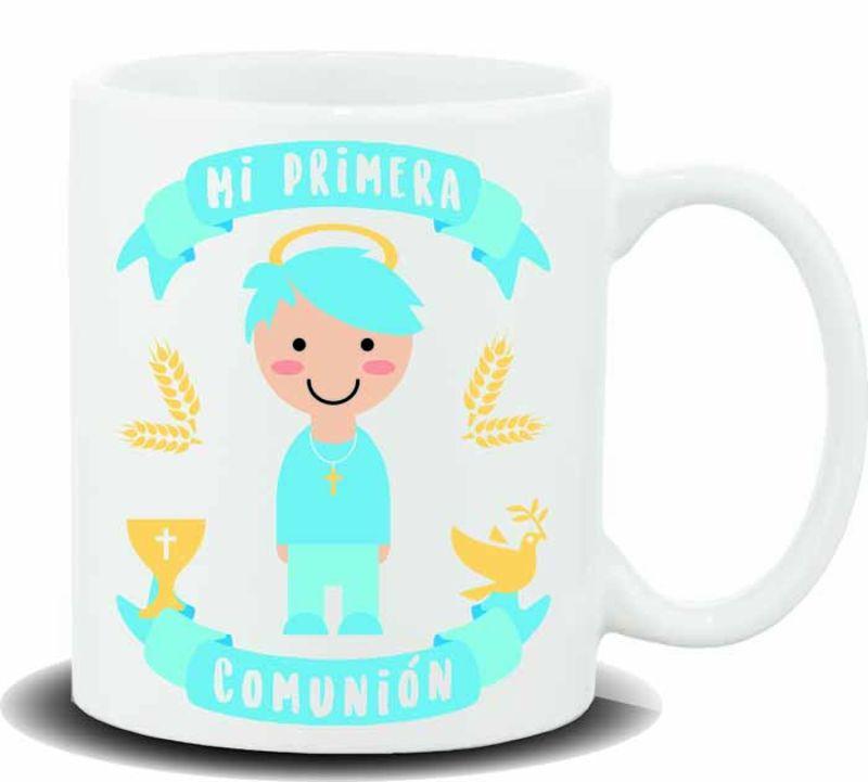 """TAZA """"MI PRIMERA COMUNION BOY"""" R: HL-400"""