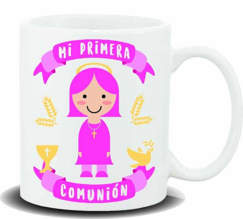 """TAZA """"MI PRIMERA COMUNION GIRL"""" R: HL-450"""