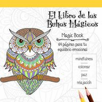 LIBRO MANDALA 64 PAGINAS 120G BUHOS MAGICOS