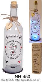 BOTELLA C / LUCES LED MI PRIMERA COMUNION GIRL R: NH-450