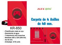 CARPETA 4 AN. CONECTING PEOPLE ROJA R: KR-850
