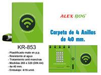 CARPETA 4 AN. CONECTING PEOPLE VERDE R: KR-853