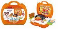 Maletin Con Set De Pizza Pequeño Color Orange R: Pt-7945 -