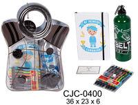 Bolsa Comunion - Libreta A5 + Bolis + Cantimplora R: Cjc-0400 -