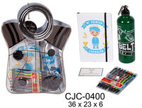 BOLSA COMUNION - LIBRETA A5 + BOLIS + CANTIMPLORA R: CJC-0400