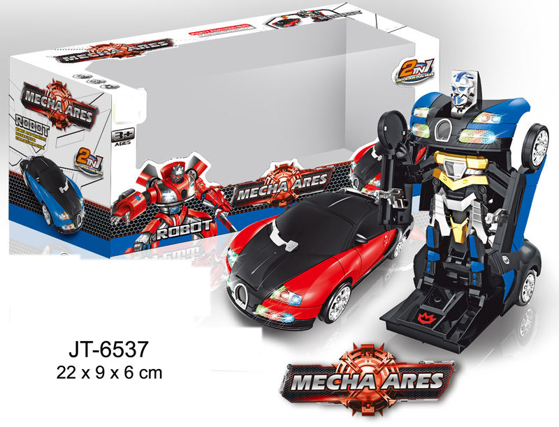 TRANSFORMER COCHE SPORT CARS MECHA ARES 2 COLORES