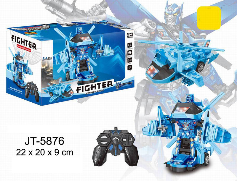 Transformer Helicoptero R / C Fighter -